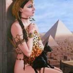 egypt priestess